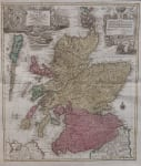 LOTTER'S FOLIO MAP OF SCOTLAND