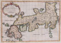 BELLIN MAP OF JAPAN