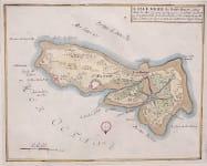 DE FER MAP OF ISLE DE RE