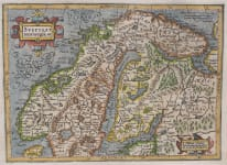 MERCATOR HONDIUS  SWEDEN, NORWAY & FINLAND