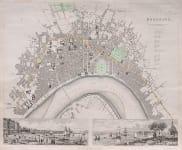 PLAN OF BORDEAUX BY CLARKE