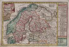 SCHREIBER'S MAP OF SCANDINAVIA
