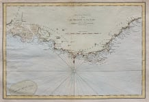 FADEN'S CHART OF THE COAST OF PROVENCE