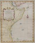 BELLIN MAP EAST AFRICA  KENYA ..