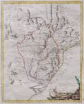 ZATTA MAP OF PARAGUAY & PARAGUAY 1785