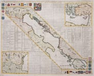 CHATELAIN'S MAP OF THE REPUBLICS OF VENICE