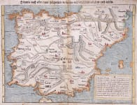 MUNSTER FIRST STATE MAP OF SPAIN