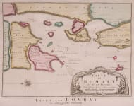 DUTCH ISSUE OF BELLIN PLAN OF BOMBAY