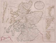 CORONELLI NOLIN MAP OF SCOTLAND
