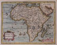 MERCATOR HONDIUS AFRICA