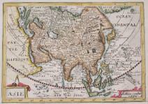 JOLLIAN RARE MAP OF ASIA