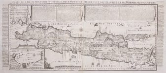 JAVA    CHATELAIN HIGHLY SOUGHT AFTER MONUMENTAL MAP
