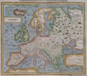 MUNSTER  SECOND MODERN EUROPE MAP