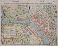 MUNSTER MAP OF BASEL