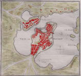 BELLIN EARLY PLAN OF BOSTON AND CHARLES TOWN