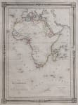 AFRICA  CONTINENT  BARBE DU BOCAGE 1843