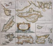 MORDEN MAP OF BRITISH ISLANDS