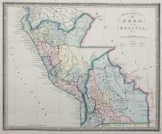 PERU AND BOLIVIA    JAMES WYLD