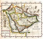 MORDEN SCARCE ENGLISH MAP OF ARABIA