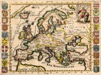 EUROPE  BY DE LA CROIX