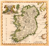 JEFFERYS MAP OF IRELAND