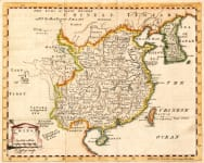 THOMAS JEFFERYS MAP OF CHINA