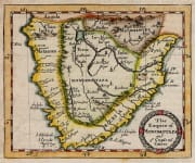 MORDEN MAP OF SOUTHERN AFRICA