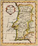 MORDEN  RARE MAP OF PORTUGAL 1688