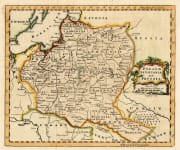 JEFFERYS MAP OF POLAND  LITHUANIA PRUSSIA