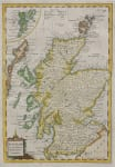 KITCHIN    MAP OF SCOTLAND