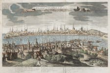 RARE VIEW OF CONSTANTINOPLE