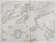 RUSCELLIS MAP OF THE NORTH ATLANTIC  FICTICIOUS ISLANDS