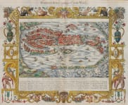 VENICE BELLEFOREST VERY RARE 1575 PLAN