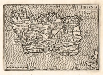 RARE VISSCHER MAP OF IRELAND