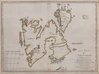 LE ROUGE MAP OF SPITSBERGEN  ISLANDS
