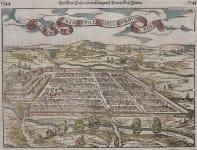 MUNSTER VIEW MAP OF CUSCO PERU