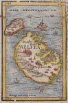MUNSTER MAP OF MALTA
