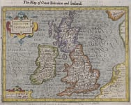 PURCHASE HONDIUS MAP OF BRITISH ISLES