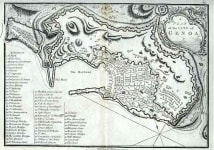 A PLAN OF THE CITY OF GENOA