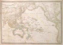 PACIFIC CARTE DE L'OCEANIE