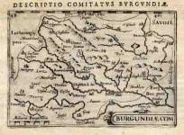 BURGUNDY BURGUNDIAE COMITATUS