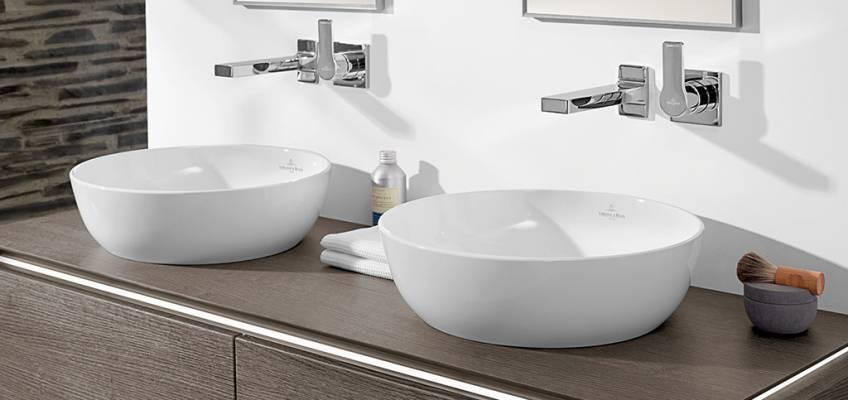 Villeroy und boch waschbecken rund  Villeroy & Boch Artis Waschbecken aus TitanCeram - MEGABAD