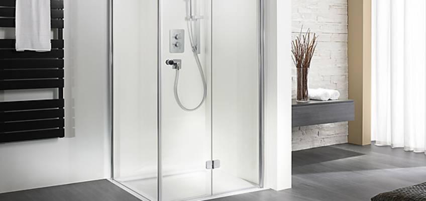 hsk duschkabinen gl sern transparent und flexibel megabad. Black Bedroom Furniture Sets. Home Design Ideas