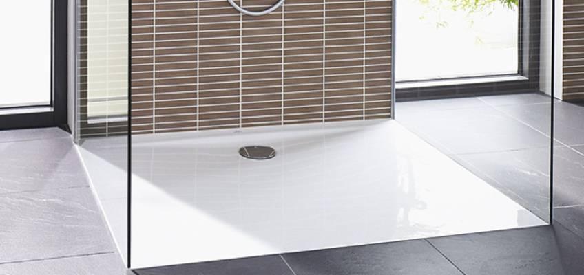 barrierefreie Dusche - bodenebene Duschflächen kaufen - MEGABAD
