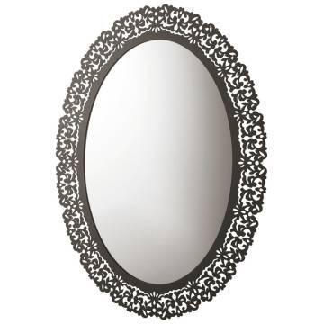 Globo paestum wand spiegel mit metallrahmen pasr38 megabad - Spiegel mit metallrahmen ...