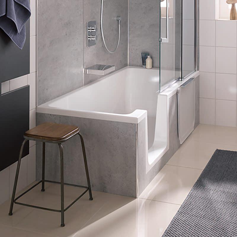 Duschbadewanne preis  HSK Dusch-Badewanne Dobla 160 cm Einstieg links 540160 - MEGABAD