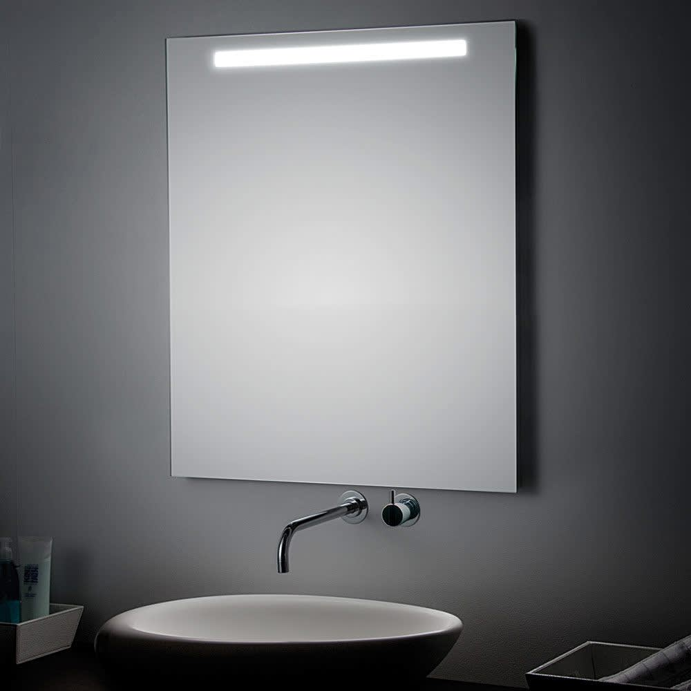 Koh-I-Noor Spiegel 140 x 70 cm mit LED-Oberbeleuchtung mit Schalter ...