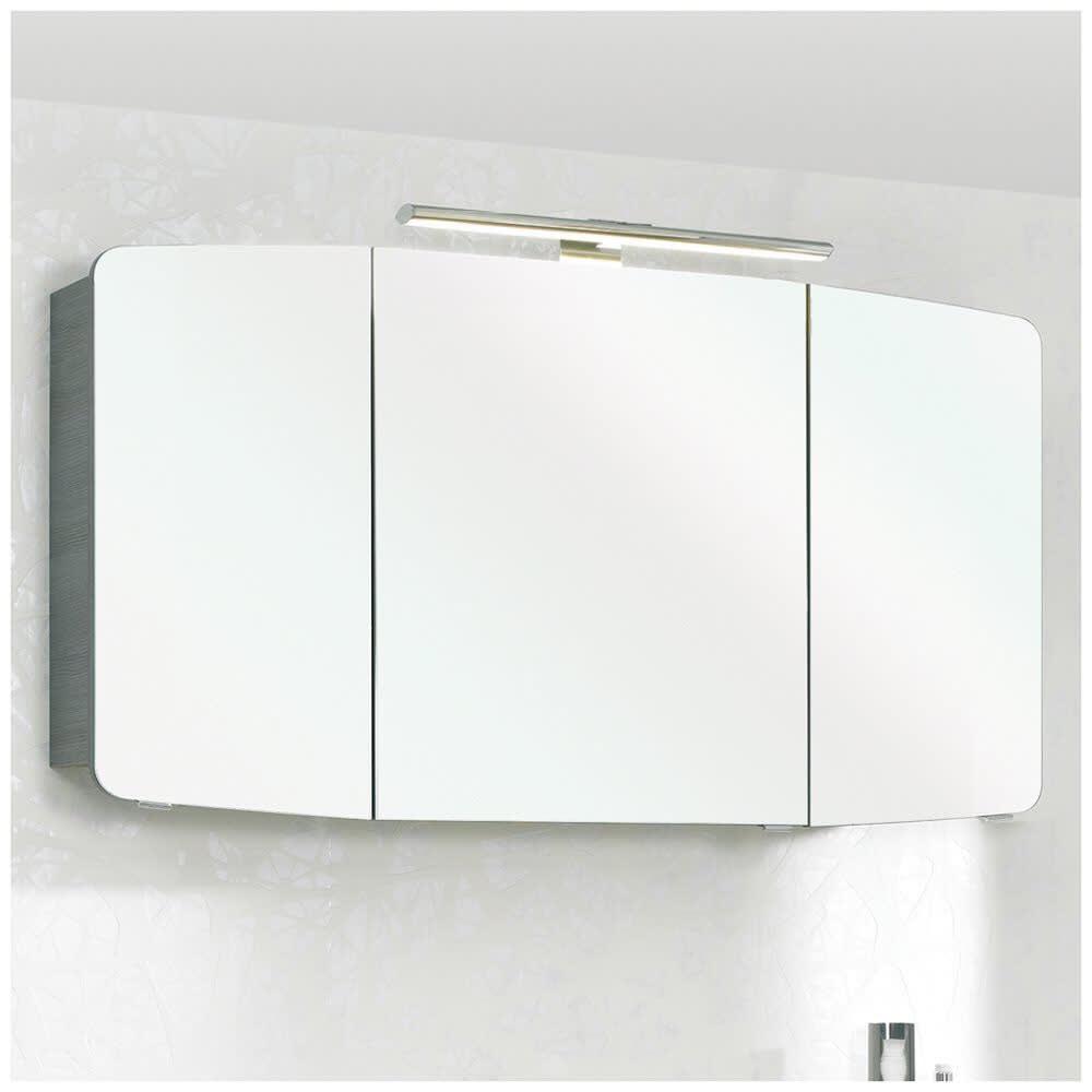 Pelipal Cassca Spiegelschrank 120 x 17 x 67 cm mit LED Beleuchtung ...