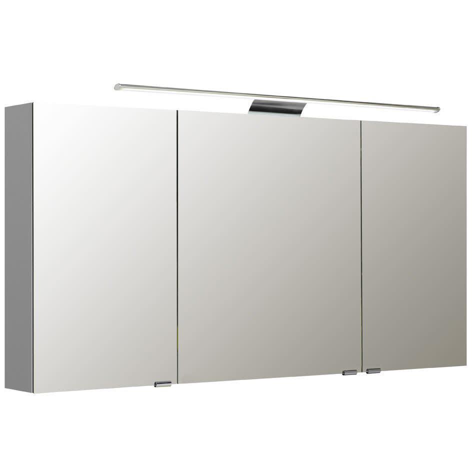 Pelipal S5 Spiegelschrank 140 X 70 Cm Mit LED Leuchten Typ II Und  Waschplatzbeleuchtung S5 SPSD25 II 25+S5 EB LWP02   MEGABAD
