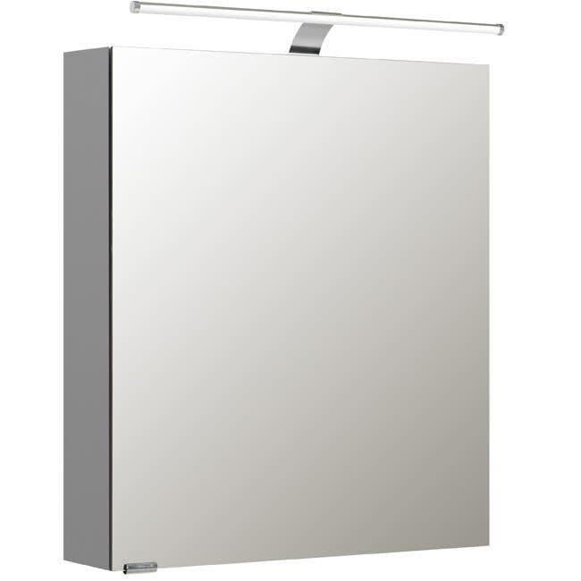 Pelipal S5 Spiegelschrank 60 x 16 x 70 cm mit LED Leuchten Typ I ...